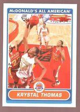 KRYSTAL THOMAS 2007 TOPPS MCDONALDS ALL AMERICAN RC