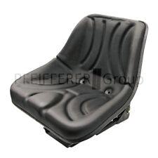 Schleppersitz mechanisch gefedert Einstellbereich 150 mm Traktorsitz Schale