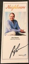 ALAN FLETCHER *Karl* NEIGHBOURS HAND SIGNED Cast Fan Card NEW 2018 DESIGN
