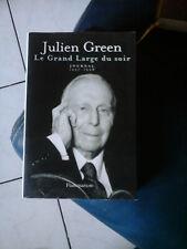 JULIEN GREEN LE GRAND LARGE DU SOIR JOURNAL 1997-1998 ED FLAMMARION