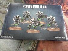 Warhammer 40K Necron Inmortales/deathmarks-Nuevo y Sellado