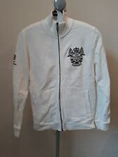 HENRI LLOYD  Zip Up JACKET top tracksuit coat size S Small White