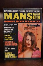 Man's Magazine - March 1972 - Adventure - Pinup - Pulp