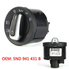 1Pc Car Headlight Switch Control for VW Golf Jetta Mk5 Mk6 Passat Scirocco LJ