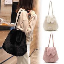 Women Lolita Shoulder Bag Crossbody Bags  Tote Hobo Satchel Fur Rabbit Handbag