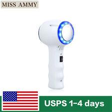 US Handheld Blue LED Light Hot / Warm & Cold Hammer Skin Lift Device Massager