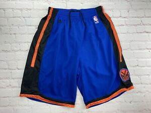 Men's Adidas New York Knicks NBA Shorts Basketball Sz Large Swingman NYK