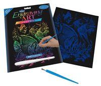 Royal and Langnickel - Engraving Art Set – Tropical Fish – Rainbow Foil