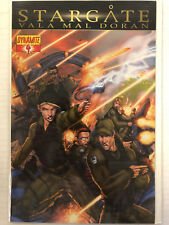 Stargate: Val Mal Doran #4 Comic Book Dynamite 2010