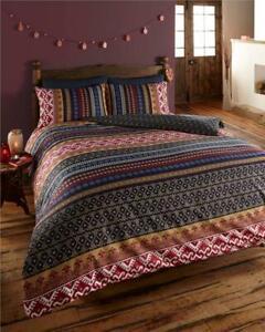 Moroccan style duvet cover sets aztec geometric boho ethnic bedding