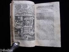 """Guillaume de RIQUIEU 1602 Édition originale, Livre Religion """"Figures Mystiques"""""""