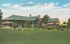 (T)  Toledo, OH - Inverness Country Club - Clubhouse Exterior and Grounds