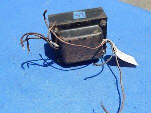 Seeburg Transformer # 305163: T1 Power on MRA4-L6 Amplifier