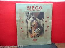 Joli ancien calendrier, Les Eco, Châlons sur Marne, 1953