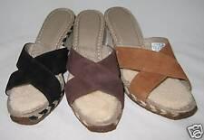 Ugg Margot Shoes Wedges Black Chocolate Chestnut 7 8