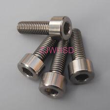 4pcs M5 x 16 Titanium Ti Screw Bolt Allen hex Socket Cap head / Aerospace Grade