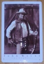 JOHN WAYNE, Blechschild, Western, NEU