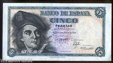 5 Pesetas 1948 Juan Sebastian Elcano @ Sin Circular @