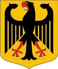 15x12,7 cm PREMIUM Aufkleber Wappen Deutschland Adler Sticker Autoaufkleber Auto