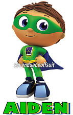 NEW CUSTOM PERSONALIZED SUPER WHY WYATT T SHIRT BIRTHDAY PARTY FAVOR GIFT NEW 2