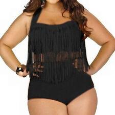 Señoras de la borla de gran altura traje de baño bikini push-up de gran tamaño