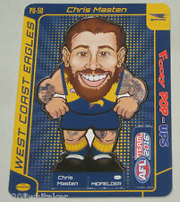 2016 AFL Teamcoach Footy Pop-up #PU-50 Chris Masten - West Coast Eagles