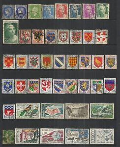 FRANCE    VARIOUS USED ISSUES  (74 STAMPS)   LOT C