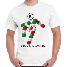 Italia 90 Logo World Cup Football Soccer Italy 1990 Fan Unisex T Shirt 2772