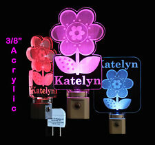 Personalized LED Flower Night Light - Lamp