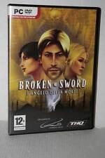 BROKEN SWORD L'ANGELO DELLA MORTE GIOCO USATO PC DVD VERSIONE ITALIANA DS2 52156