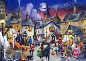 1000 Pcs Puzzle Halloween Street Creepy Night Jigsaw Adult Kid Educational Toys