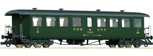 Roco 44731 Seetal-Wagen SBB 2a Class Livery Green Roof Grey Dark Terrazzini