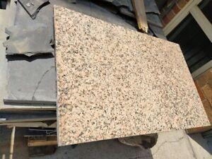 Granite small slab 20mm thick 800x522mm.