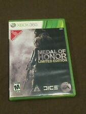 Microsoft XBox 360 Video Game Medal of Honor Limited Edition Rated M NICE