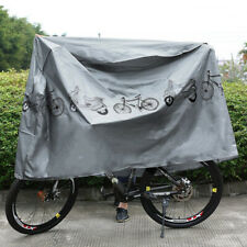 Bicycle Cover Waterproof Bike Cover Dust Wind Proof Indoor Usage & Storage Rack