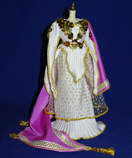 "Barbie robe & cape Grèce Antique feuilles & fleurs métal ""Grecian Goddess"" 1995"