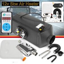 12V 5KW 5000W Air Diesel Heater PLANAR Voiture Chauffage + Switch Bus Van Camion