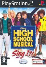 High School Musical Sing IT Ps2 Digital Bros 8717418135089