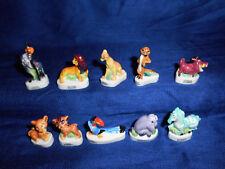 LION KING Simba's Pride Set 10 Miniaure French Porcelain FEVES Figurines DISNEY