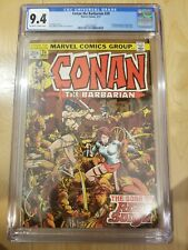 Conan the Barbarian 24 Marvel 1st Full Appearance Red Sonja CGC 9.4