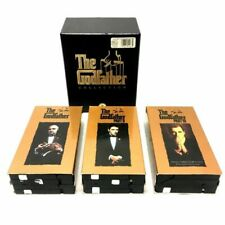 The Godfather Collection: Part 1, 2, And 3 ~ 6-Tape Vhs Box Set ~ 1997 ~ Sealed
