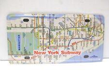 New York Magnet Subway Metro Car Plate 8 cm, Souvenir USA