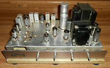 Nice Fisher 610-St Rare Tube Amp Power Amplifier W/ 6Bq5 & 12Ax7 Powers Up As Is