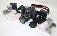 Canon EOS 7D 18.0 MP DSLR Camera w/ EF-S IS 18-55mm Lens | BUNDLE JAPAN 350 SHTR