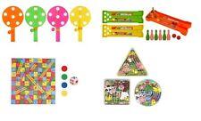MINI Party Games-SERPENTI E SCALE Puzzle Labirinto Bowling alleato e Hi Basso Gioco