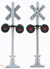 Walthers SceneMaster HO Scale Crossing Signal Flashers (Working Lights) 2-Pack