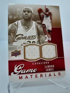 LeBron James Game Worn 2009-10 /150 ~ Authentic, Upper Deck, Cavaliers, MVP