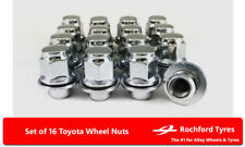 Original Style Wheel Nuts (16) 12x1.5 Nuts For Toyota Corolla Verso [Mk2] 01-04