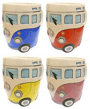 Volkswagen VW Camper Van Bus Mug Split Screen Surfer Camping Tea Coffee Soup Cup