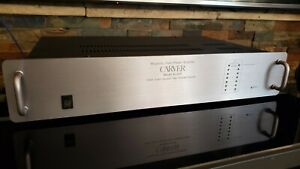 Carver M-4.0t Power Amplifier (SN:00613) New Capacitors - Flawless (375 w/ch)